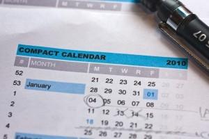 Compact Calendar 2010