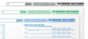 Emergent Task Planner (Free version) 2010 Updates