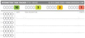 Intermittent Task Tracker 2010 Updates