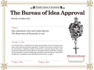 Bureau of Idea Approval