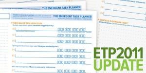 2011 Emergent Task Planner Updates