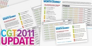 2011 Concrete Goals Tracker Updates