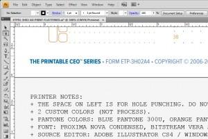 Update on European Pre-Printed ETP Pads
