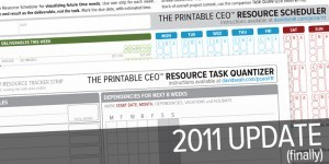 2011 Resource/Time Tracker Updates