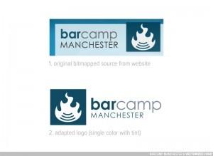 Barcamp Manchester Logo Variations