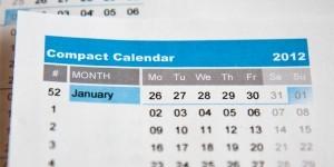 2012 Compact Calendar Updates