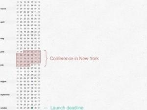 12 Months: a Compact Calendar-inspired iPad App
