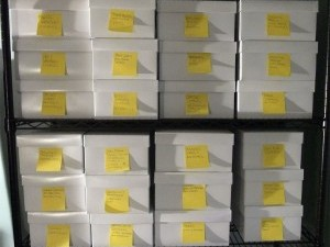 Project Shoebox: Making a Physical Filing System