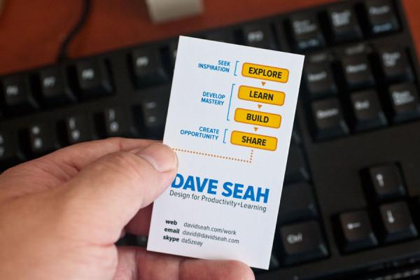 Business Card: First Batch Check