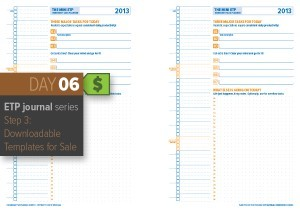 Day 6: ETP Journal Step 3 – Digital Downloads!