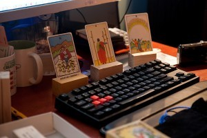 Tarot Cards and Index Card Docks