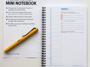 Production Prototypes: Emergent Task Planner Mini Notebook Coming Soon