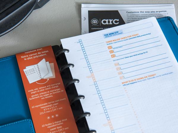 Arc Notebook Junior + Mini ETP