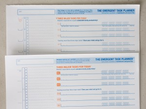Comparison of Emergent Task Planner 2009 with 2013