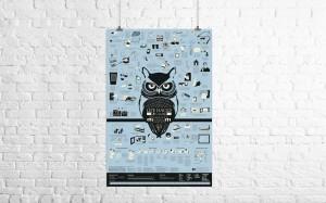 "Alex Croft's ""Life Hack Poster"" on Kickstarter"