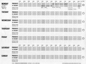 Producing vs Consuming: Recap of Design through Draft 03