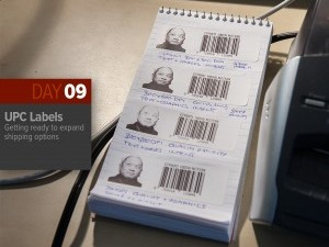 Thing-a-Day 09: UPC Product Labels