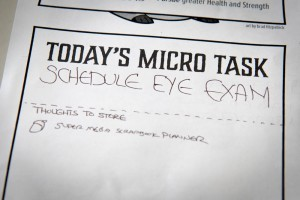 MicroTask 02: Scheduling a Long-Overdue Eye Exam