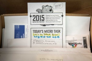 MicroTask 04: Look in the Paper Box!