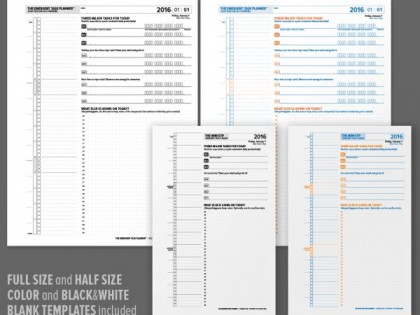 2016 Emergent Task Planner Almanac PDFs for Sale!