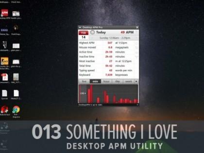 Something I Love: Desktop APM (GHD013)