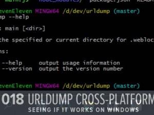 Tweaking Yesterday's Work for Windows (GHD018)