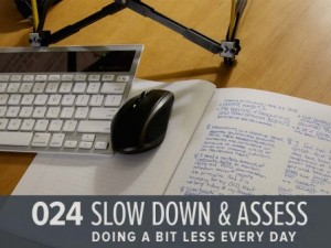 Slow Down and Assess (GHD024)