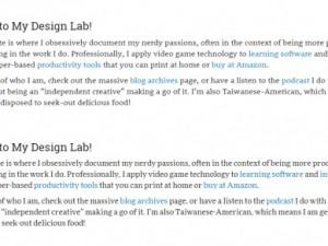 Clarifying Website Focus (GHD028)