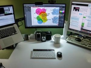 New Monitor, New Workspace Organization (GHD050)