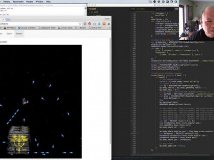 Javascript Game Bullet Collisions and Financial Reports (GHD060-061)