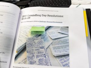 The 2018 Groundhog Day Resolutions Omnibus