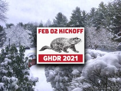 Groundhog Day Resolutions Kickoff 2021!