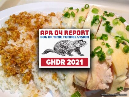 GHDR 2021 April Report: Fog of Time Tunnel Vision