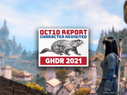 GHDR 2021 October 10 Report: Characters, Revisited