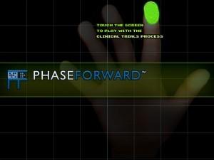 Phase Forward DIA Kiosk (2002)