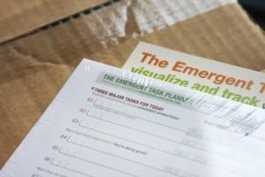 Emergent Task Planner Pre-printed Pads
