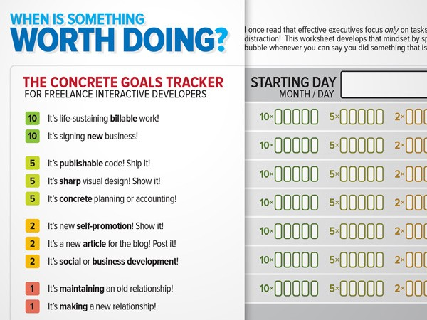 The Concrete Goals Tracker